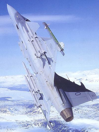 Gripen Multirole Fighter Aircraft, Sweden